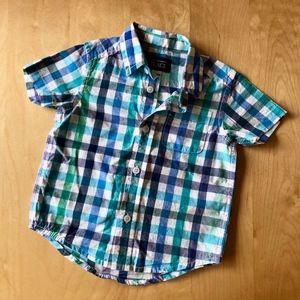 Children's Place Button Down Shirt 12-18 Months